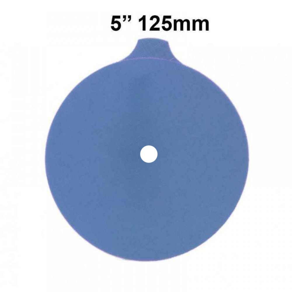 3M 5 inch (125mm) Trizact Film A10 FINE GRADE Abrasive Disc, Sanding Disc PSA (Pack of 5 Discs)