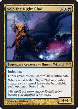 Magic: the Gathering - Vela the Night-Clad (107) - Planechase 2012