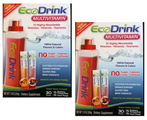 Ecodrink Multivitamin 31 Highly Absorbable Vitamins, Mineral