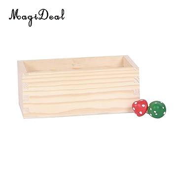 Amazon.com: Macetero de madera de la mejor calidad, macetas ...