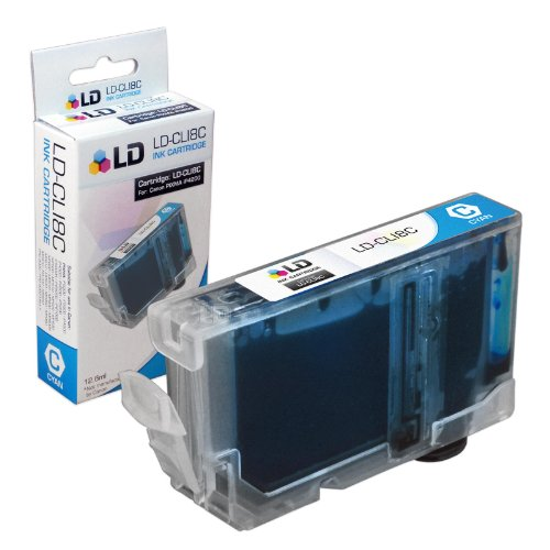 LD © Canon Compatible PGI5 and CLI8 Set of 16 Ink Cartridges Includes: 4 Pigment Black (PGI5BK), 3 Black (CLI8BK), 3 Cyan (CLI8C), 3 Magenta (CLI8M), and 3 Yellow (CLI8Y) Photo #5
