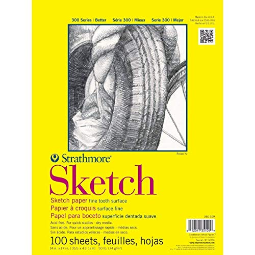 Strathmore (350-14) 300 Series Sketch Pad 14
