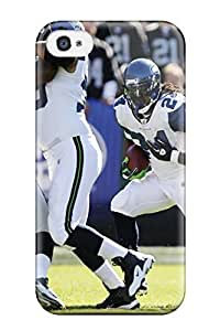 Fashion Protective Seattleeahawks Case Cover For Iphone 4/4s