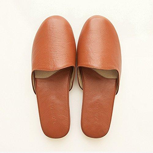 Cómodo Cuatro estaciones del hogar de piso de madera piso zapatillas Parejas suave fondo suave zapatillas zapatillas (4 colores opcional) (tamaño opcional) Aumentado ( Color : A , Tamaño : 38-39 ) A