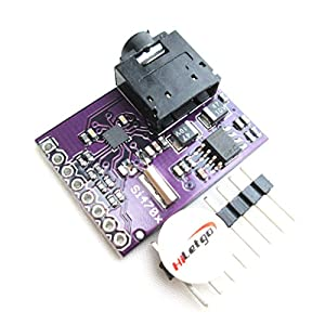 HiLetgo Si4703 RDS FM Radio Tuner Evaluation Breakout Board For Arduino AVR PIC ARM