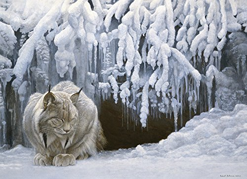 Cobble Hill Dozing Lynx Jigsaw Puzzle