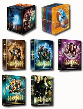 PACK DVD FARSCAPE SAISON 1 A 4 + PEACEKEEPER: Amazon.es: Cine y ...
