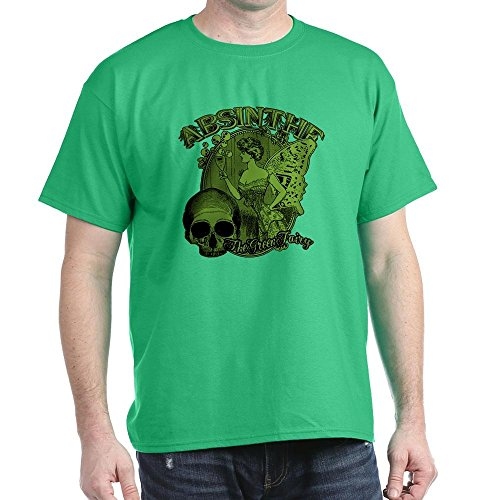 reen Fairy Lady Collage - 100% Cotton T-Shirt (Absinthe Green Fairy Shirt)