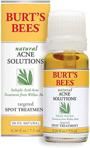 Burt's Bees Natural Acne Solutions Targeted Spot Treatment for Oily Skin, 0.26 Ounces