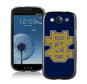 Notre Dame Fighting Irish Black Fashion Customize Design Samsung Galaxy S3 I9300 Phone Case