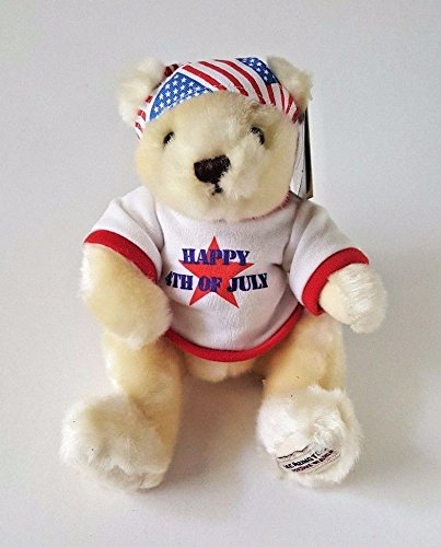 HERRINGTON CELEBRATION COLLECTION LIMITED EDITION HAPPY 4TH OF JULY TEDDY BEAR