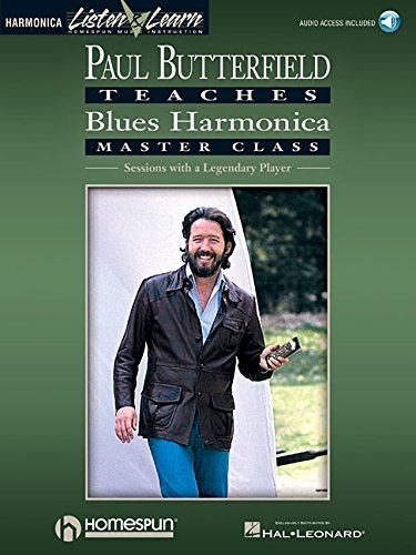 Paul Butterfield - Blues Harmonica Master Class: Book/Online Audio