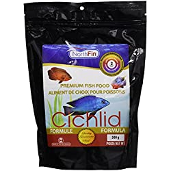 Northfin Food Cichlid Formula 2mm Pellet 500 Gram Package