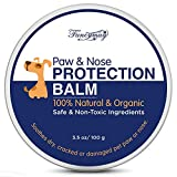 Fancymay Organic Paw and Nose Balm Wax (Large - 100 Gram) for Dogs and Cats, Natural Pets Pad Protection Wax to Heal, Soothe and Protect Cracked, Rough and Dry Paws, Noses and Snouts