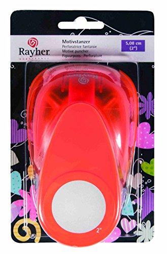 RAYHER - 8961400 - Motivstanzer: Rund, ø 5,08 cm, (2 )