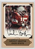 Archie Griffin (Football Card) 2001 Fleer Ultra - College Greats Preview - Autographs [Autographed] #ARGR