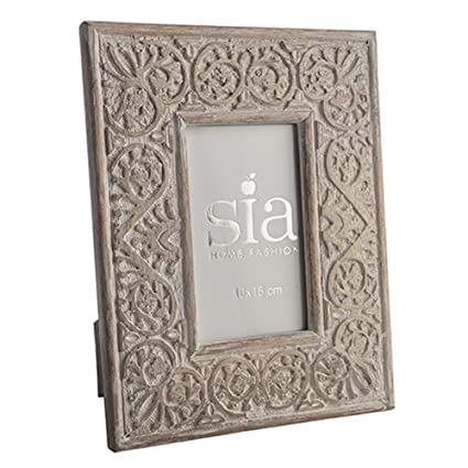 Cornice Sia Home Fashion.Sia Home Fashion Cornice Portafoto In Legno Di Mango 25 X