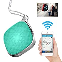 Mini Micro GPS Tracker, Hangang Real-time Tracking Locating Device for Kids Pets Cats Dogs Vehicle with SOS Call Tracking Tool