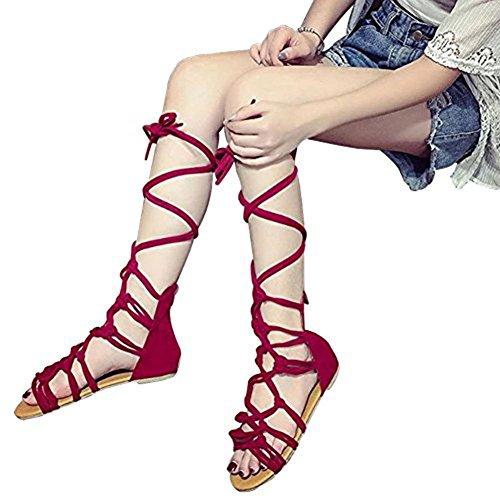 glissière hibote à Chaussures lacets à rouge à lacets PxwqRIOf