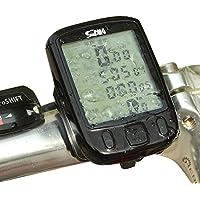 Futaba Waterproof LCD Bicycle Speedometer with Green Backlight
