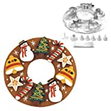 Fox Run Cookie Wreath Bake Set