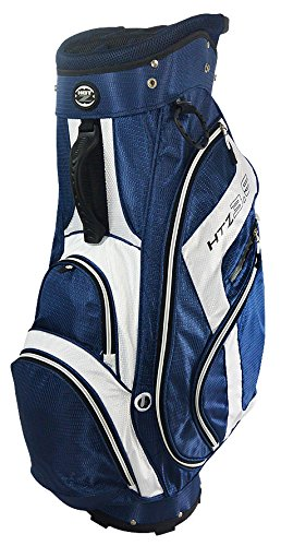 Hot-Z Golf 3.5 Cart Bag Navy Blue/White