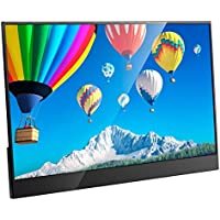 cocopar 15.6 inch Portable monitor 16:9 HDMI 1920X1080 USB-C PS3/PS4/xbox360/one 1080P LED display game monitor for Raspberry Pi with Case(weight 476g,thickness 4 mm)