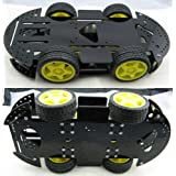 New 4WD Robot Smart Car Kits Chassis Mobile Platform 4 drive Special Price Gift