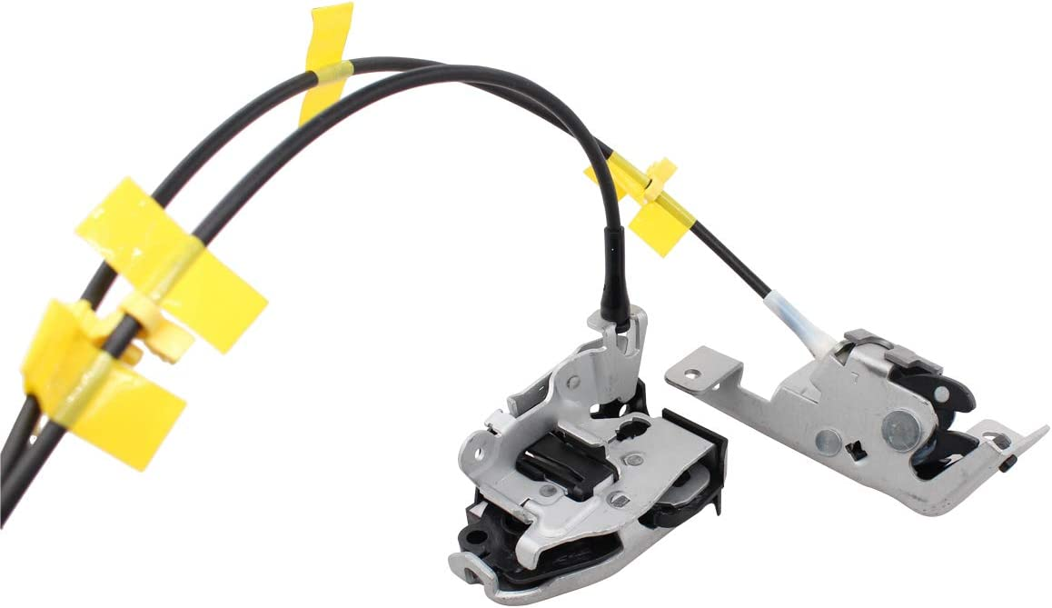 XtremeAmazing Left Rear Side Door Latch and Cable Compatible with Ford 6L3Z-18264A01-B