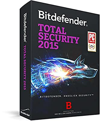 Bitdefender Total Security 2015 - up to 3 PCs, 1 year [Download]