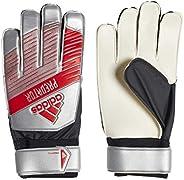 adidas DY2614 Training Gloves 5.5, Silver Metallic/Black