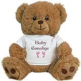 FUNNYSHIRTS.ORG Baby Girl Bear for Coraline: 8 Inch Teddy Bear Stuffed Animal