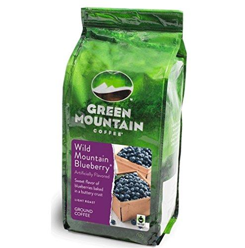 Green Mountain Coffee Wild Mountain Blueberry 12 oz. Ground Packaged