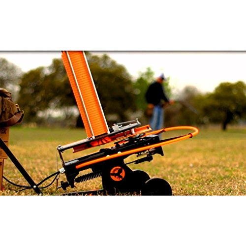 Do-All Outdoors Raven Automatic Clay Pigeon Skeet Thrower with Wheels, 50 Clay Capacity by Do-All Outdoors (Image #2)