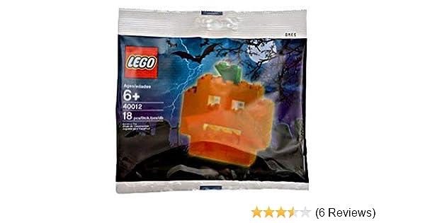 LEGO Seasonal Exclusive Mini Figure Set #40012 Pumpkin Bagged