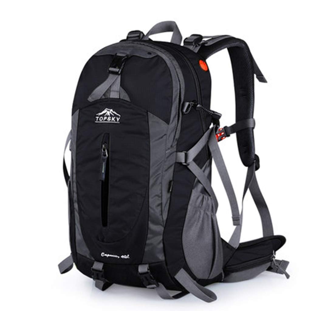 JTWJ 旅行登山バッグショルダー男性と女性の大容量のハイキング防水プロフェッショナル観光アウトドアバックパック40 L (色 : 1)  1 B07S8JVS66