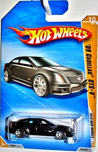 Hot Wheels '09 Cadillac CTS-V 10/44, 2010 New Models, 1:64 Scale.