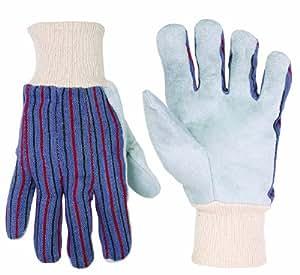 Custom Leathercraft 2036 Leather Palm Work Gloves, 1-Pair