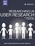 img - for Researching UX: User Research book / textbook / text book
