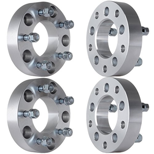 "ECCPP 5x5.5 to 5x5 Wheel Spacers Adapters 1.5"" (38mm) 5x5.5 to 5x5 Wheel Adapter 87.1mm 4X Fit for Ford E150 Dodge Ram 1500 Ford E150 Econoline with 1/2"" Studs"