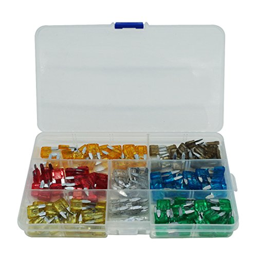 140 Assorted Car Truck Small Size Fuse 5,7.5,10,15,20,25,30 AMP