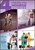 Gentlemen Prefer Blondes / How to Marry a Millionaire / Seven Year Itch / Some Like it Hot Quad Feature
