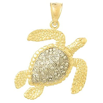 Amazoncom 14k Gold Nautical Necklace Charm Pendant 31 Dwt