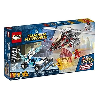 LEGO DC Super Heroes Speed Force Freeze Pursuit 76098 Building Kit (271 Piece): Toys & Games