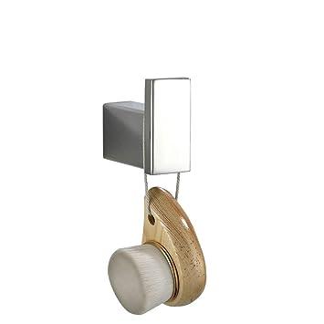 beelee ba8006sc diseño moderno montado en la pared soporte de perchero individual y toalla gancho ropa toalla ganchos, sus 304 Acero inoxidable baño ...