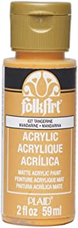 product image for FolkArt Acrylic Paint in Assorted Colors (2 oz), 627, Tangerine