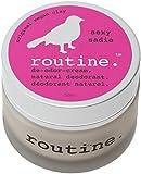 Routine De-Odor-Cream Handcrafted 50ml Clay Formula Deodorant Cream (Sexy Sadie (Vegan))
