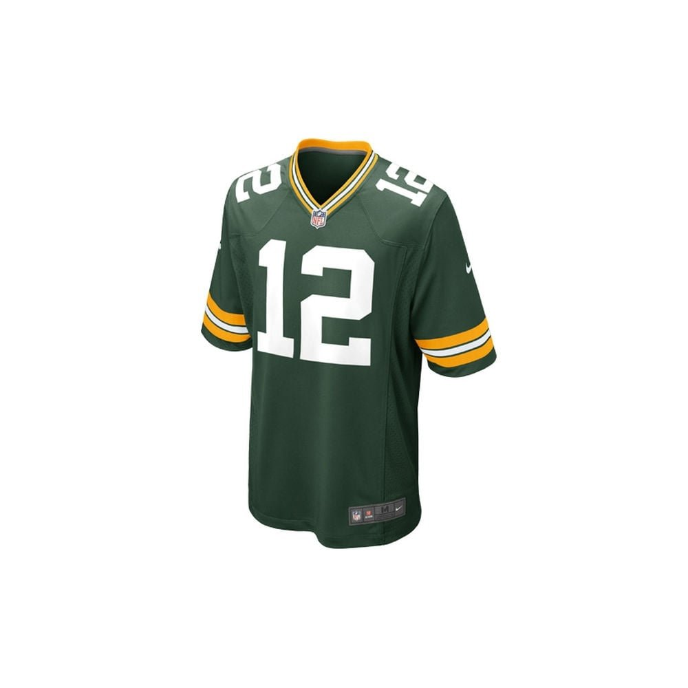 / Aaron Rodgers Nike NFL Packers de Green Bay Home Jeu Jersey/