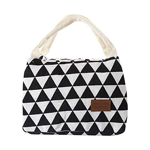 Comfi1 Unisex Fashion Print Portable Waterproof Insulated lunch Bag Food Lunch Bags from comfi1
