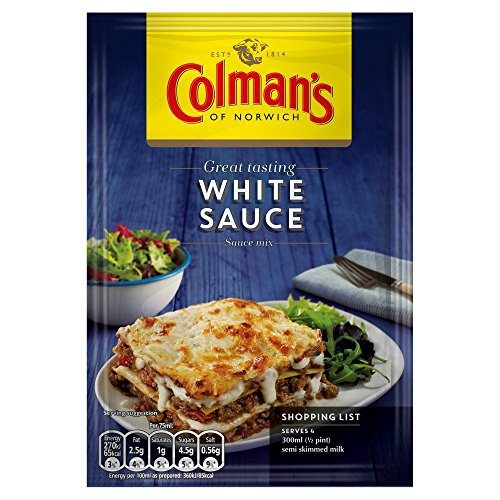 Colman's White Sauce Mix - 25g - Pack of 8 (25g x 8)